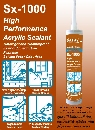 Sealex Sx-1000 High Performance Acrylic Sealant